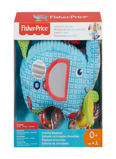 Fisher Price Fisher Price Eğlenceli Fil Kapalı Paket Renkli